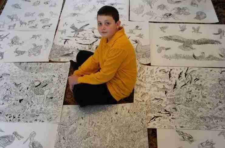 Αυτός ο 11χρονος έχει ένα ταλέντο που θα το ζήλευαν πολλοί ενήλικες!