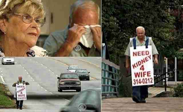 Ένας άνθρωπος κάνει ό, τι μπορεί για να σώσει τη ζωή της συζύγου του.