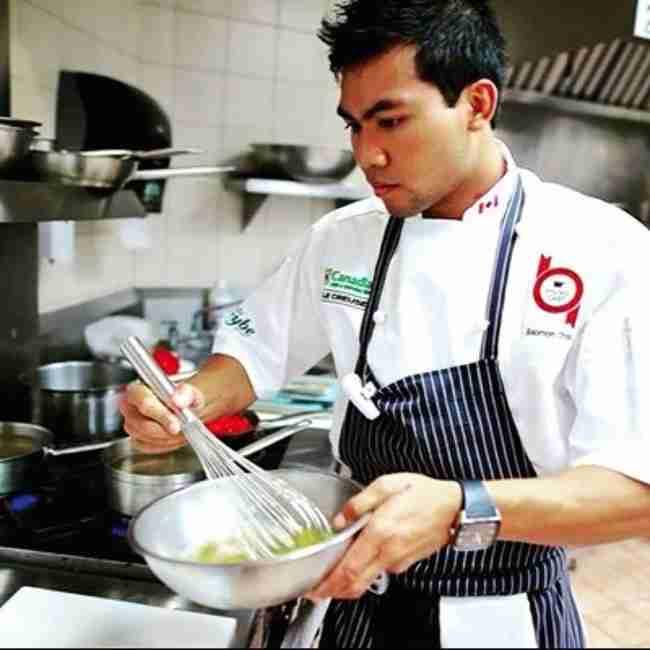 Ο Τσόου, ο οποίος ήταν επαγγελματίας σεφ, ανακάλυψε ότι είχε καρκίνο του ήπατος.