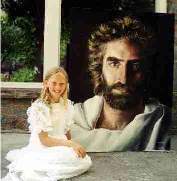 Ένα 12χρονο κορίτσι λέει ότι είδε τον Θεό και από τότε ζωγραφίζει τον Παράδεισο!