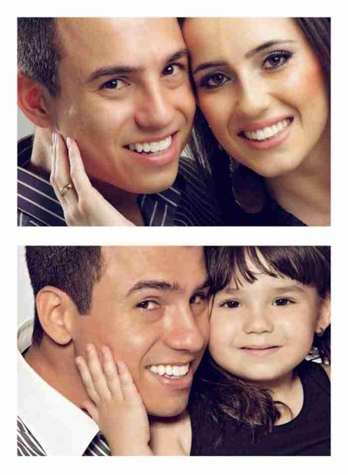 Μπαμπάς αναδημιουργεί φωτογραφίες της νεκρής του γυναίκας παρέα με την κόρη του!