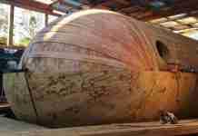 Σύγχρονος Νώε φτιάχνει τη δική του κιβωτό