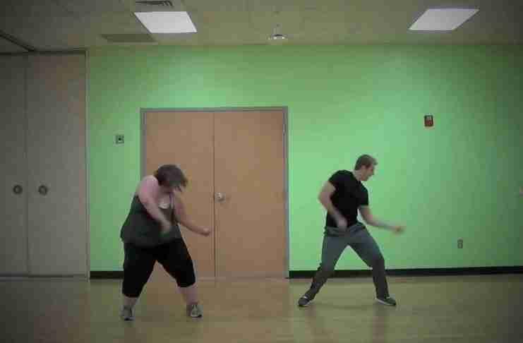 Βίντεο – απόδειξη ότι το ταλέντο στο χορό δεν εξαρτάται από το βάρος!