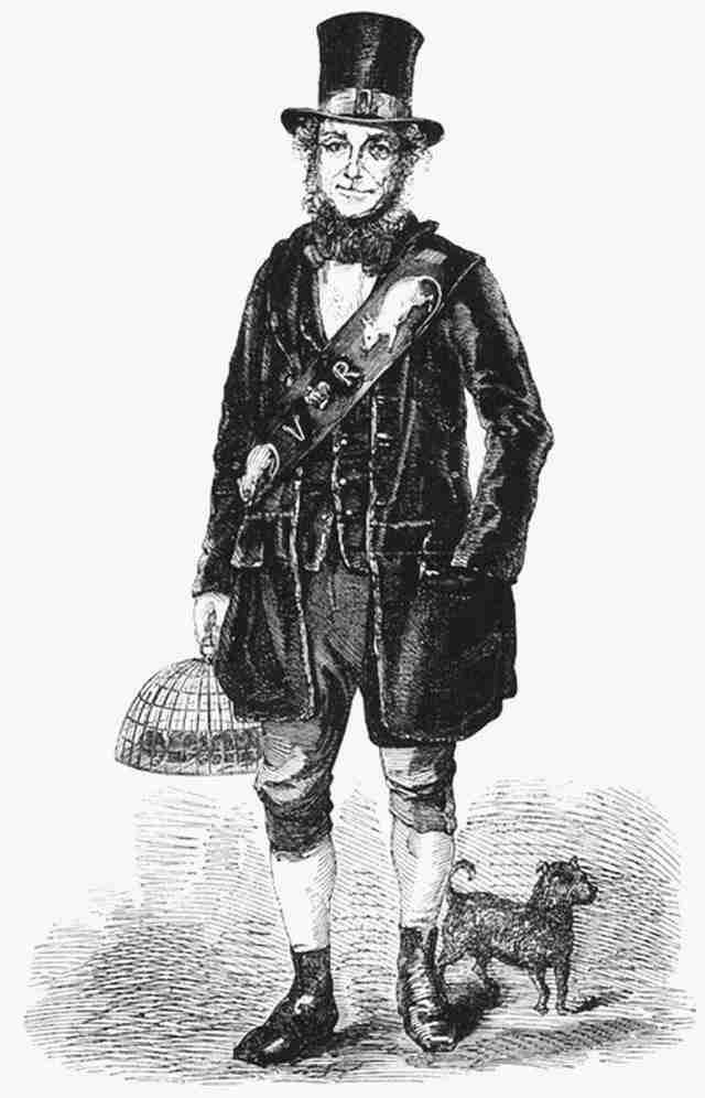 Ο Τζακ Μπλάκ ήταν ένας άντρας που κυνηγούσε και έπιανε αρουραίους τον 19ο αιώνα