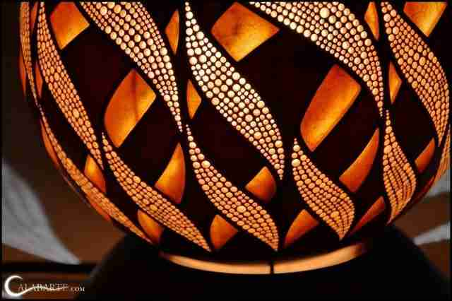 Αυτά τα φωτιστικά είναι καταπληκτικά και είναι κατασκευασμένα από.. κολοκύθες!