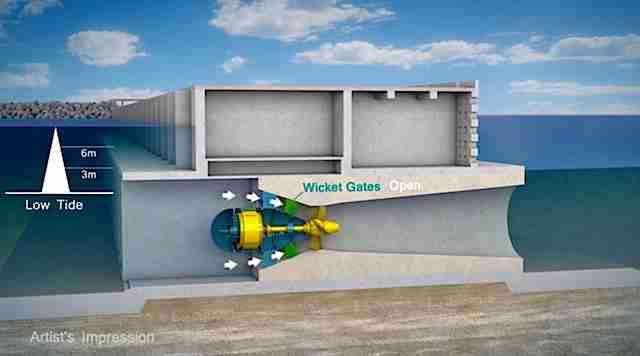 Κινούμενο ποίημα: Αυτό το κτίριο θα χρησιμοποιεί την παλίρροια για να δίνει ρεύμα σε 155 χιλιάδες σπίτια
