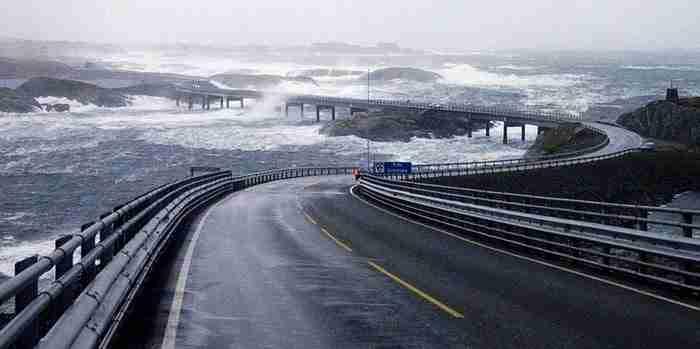 Αυτόν τον τρομακτικό δρόμο στη Νορβηγία. Θεωρείται ο πιο ακραίος δρόμος στη γη.