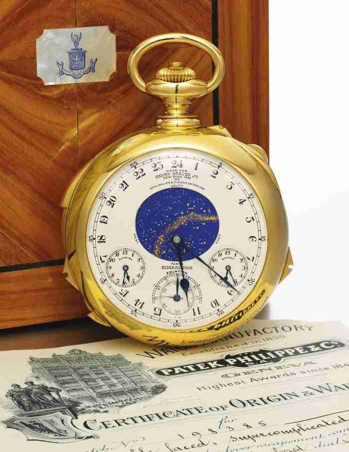 Το διάσημο ρολόι Graves Supercomplication, γνωστό και ως το πιο πολύπλοκο ρολόι στον κόσμο.