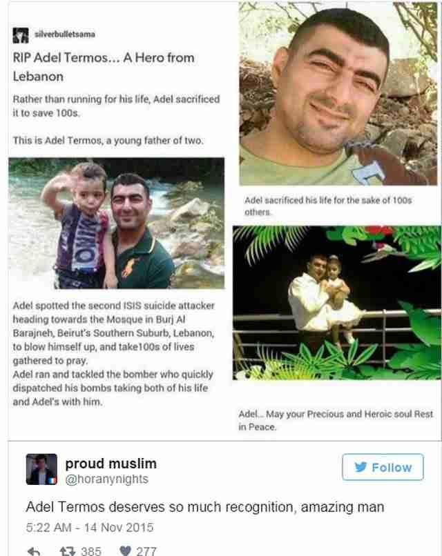 Οι περισσότεροι άνθρωποι δεν γνωρίζουν τι έκανε αυτός ο άντρας κατά τη διάρκεια τρομοκρατικής επίθεσης