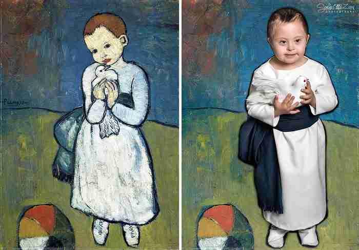 Παιδιά με σύνδρομο Down αναπαριστούν διάσημους πίνακες για να αποδείξουν ότι όλοι μας είμαστε έργα τέχνης..