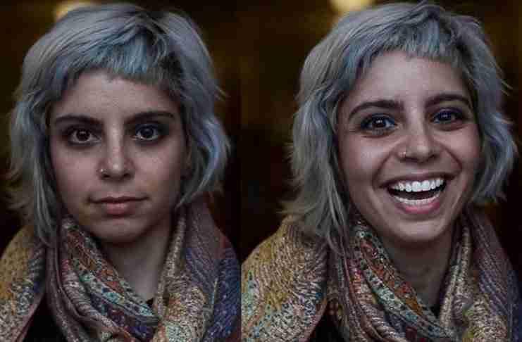Μαθητής φωτογραφίζει την αντίδραση ανθρώπων που τους λένε ότι είναι όμορφοι