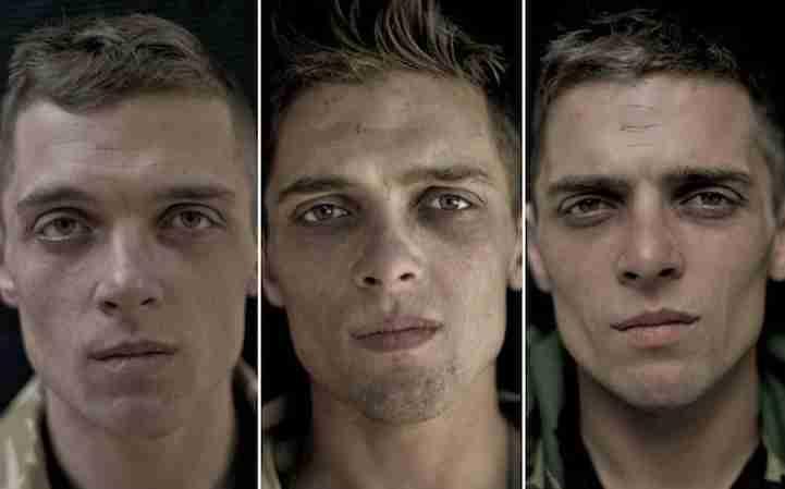 14 στρατιώτες φωτογραφίζονται πριν, κατά και μετά τον πόλεμο. Το αποτέλεσμα είναι ανησυχητικό ...