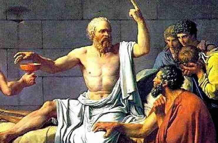 """Σύμφωνα με τον Σωκράτη """"μορφωμένος"""" δεν είναι αυτός που έχει γνώσεις. Διαβάστε τι πίστευε.."""