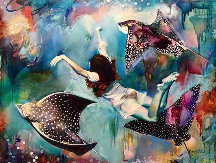 Ταλαντούχο 16χρονο κορίτσι ζωγραφίζει τους πιο εντυπωσιακούς πίνακες που έχετε δει!