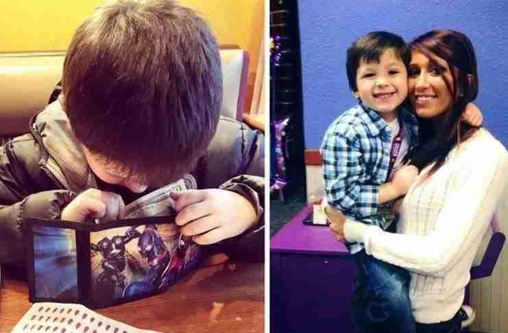 Μια μαμά βρήκε το καλύτερο τρόπο να διδάξει στο γιο της το σεβασμό