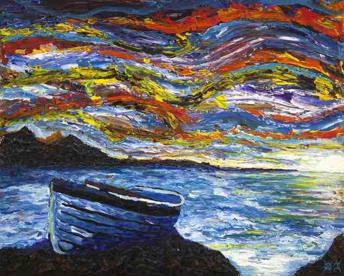 Το 2001 ο John Bramblitt τυφλώθηκε. Ένα χρόνο αργότερα, άρχισε να ζωγραφίζει