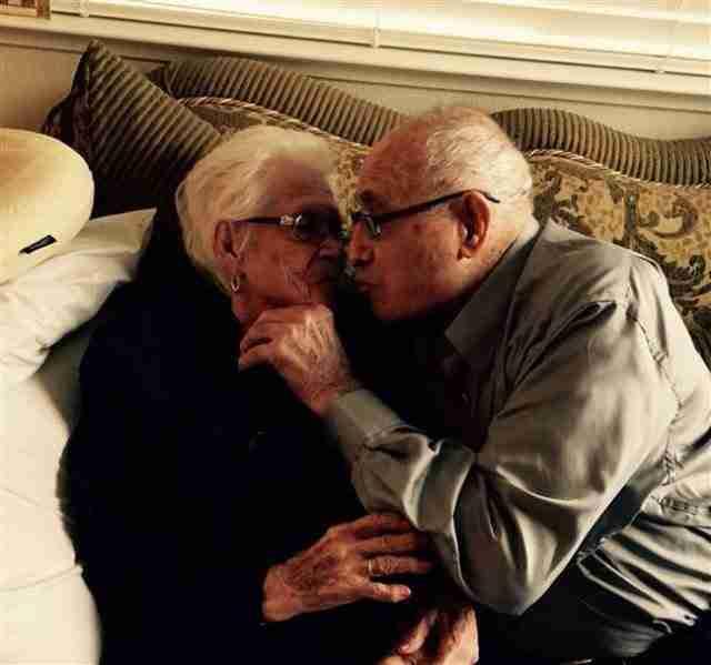 Γιόρτασαν την 82 επέτειο του γάμου τους και αποκαλύπτουν το μυστικό ενός ευτυχισμένου γάμου!