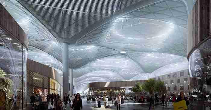 Στην Κωνσταντινούπολη κατασκευάζεται ένα από τα μεγαλύτερα αεροδρόμια στον κόσμο..