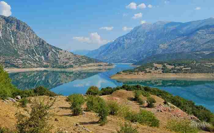 Λίμνη Μόρνου, ένας τεχνητός παράδεισος στη Φωκίδα