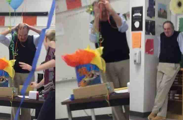 Είπε στους μαθητές του ότι δεν θυμάται πότε έκοψε για τελευταία φορά τούρτα γενεθλίων. Η αντίδρασή τους;