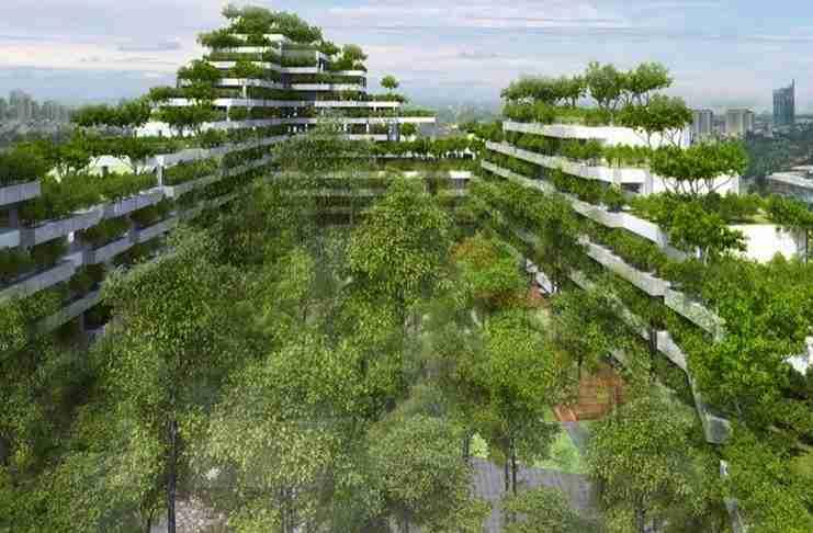 Ζήτησαν από αρχιτέκτονες να σχεδιάσουν μια πανεπιστημιούπολη. Το αποτέλεσμα είναι μαγευτικό!