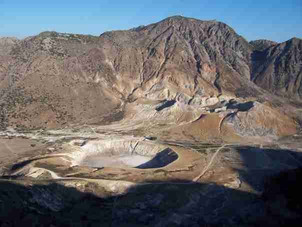 Σε πιο νησί της Ελλάδας βρίσκεται ο μεγαλύτερος υδροθερμικός κρατήρας στον κόσμο;
