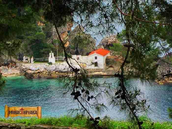 Το νησάκι της Παναγίας στην Πάργα. Ένα από τα πιο όμορφα αξιοθέατα της περιοχής