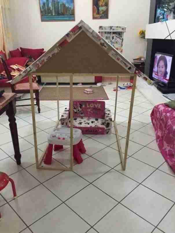 Ένας παππούς έφτιαξε στην εγγονή του το πιο παραμυθένιο σπίτι!