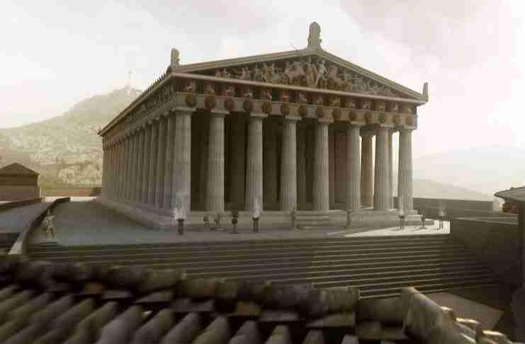 Τα μυστικά του Παρθενώνα σε ένα αποκαλυπτικό βίντεο - ντοκιμαντέρ