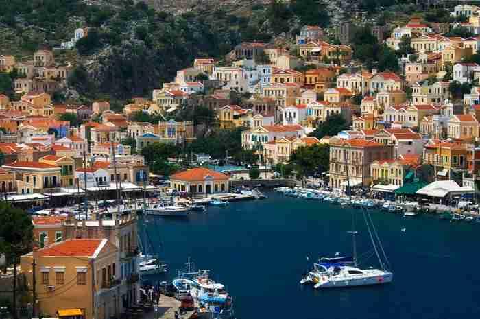 Στην άκρη του Αιγαίου υπάρχει ένα νησί που θυμίζει.. πίνακα ζωγραφικής!