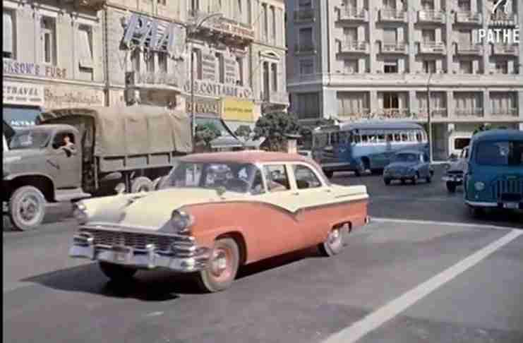 Η μαγευτική Αθήνα του 1961 σε ένα συγκλονιστικό βίντεο!