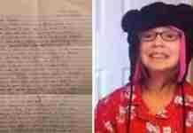 Όταν πέθανε η κόρη τους, βρήκαν ένα γράμμα στα πράγματα της. Αυτό που διάβασαν δεν θα το ξεχάσουν ποτέ