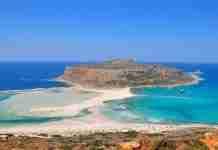 Εντυπωσιακή πτήση πάνω από την κορυφαία παραλία στο Ελαφονήσι Χανίων!