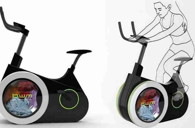 Γυμναστείτε και πλύνετε τα ρούχα σας με αυτό το καταπληκτικό οικολογικό ποδήλατο!