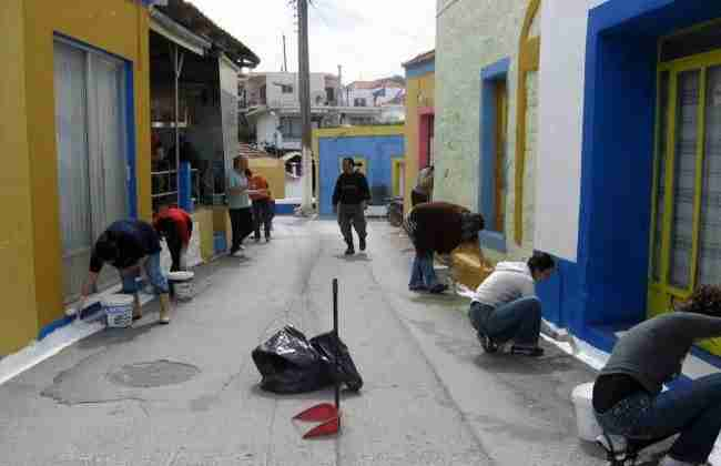 Το χωριό στη Ρόδο με τα πολύχρωμα σπιτάκια! Μια σύγχρονη παραμυθένια πολιτεία!