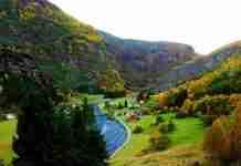 Μια υπέροχη κοιλάδα που μοιάζει με σκηνικό παραμυθιού! Απλά δείτε τις εικόνες