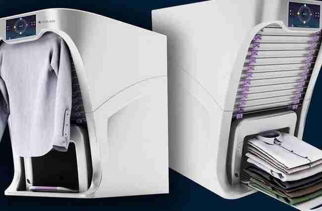 Αυτή είναι η συσκευή που διπλώνει και σιδερώνει μόνη της τα ρούχα σας!