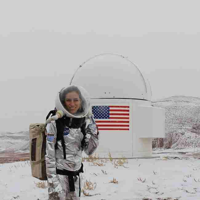 Μια 27χρονη βιολόγος από τη Θεσσαλονίκη είναι το αστέρι της NASA!