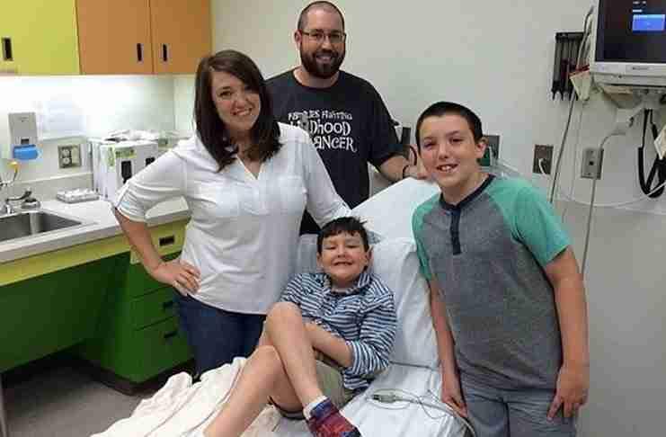 Η συγκινητική στιγμή που ένας 7χρονος μαθαίνει πως επιτέλους νίκησε τον καρκίνο…