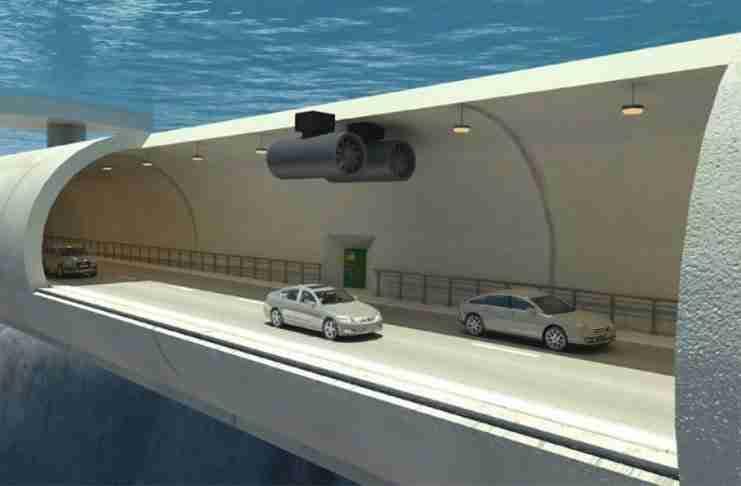 Στην Νορβηγία κατασκευάζουν υποβρύχια «πλωτά» τούνελ 25 δις δολαρίων για την μετακίνηση των αυτοκινήτων