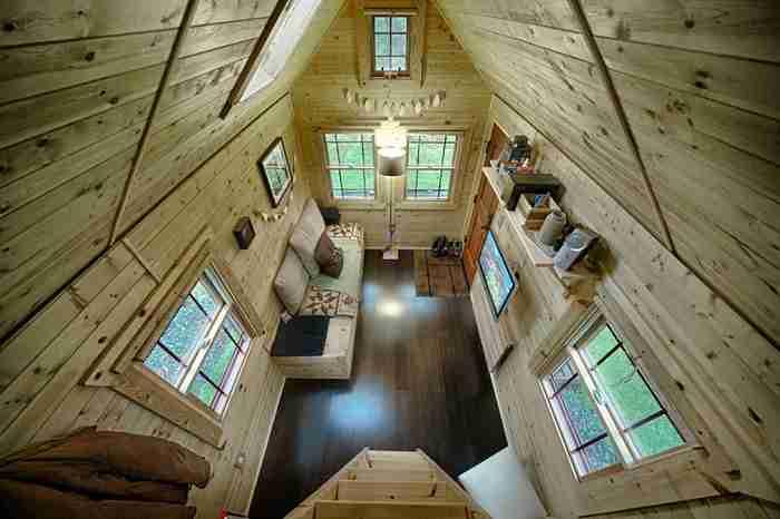 Το πιο όμορφο ξύλινο σπιτάκι που κατασκευάστηκε ποτέ!