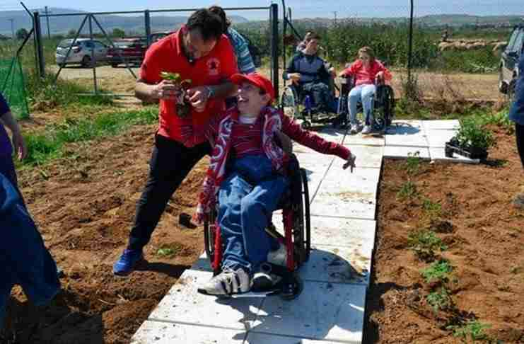 Παιδιά με αναπηρία καλλιεργούν το δικό τους λαχανόκηπο στο Δήμο Θέρμης και το απολαμβάνουν