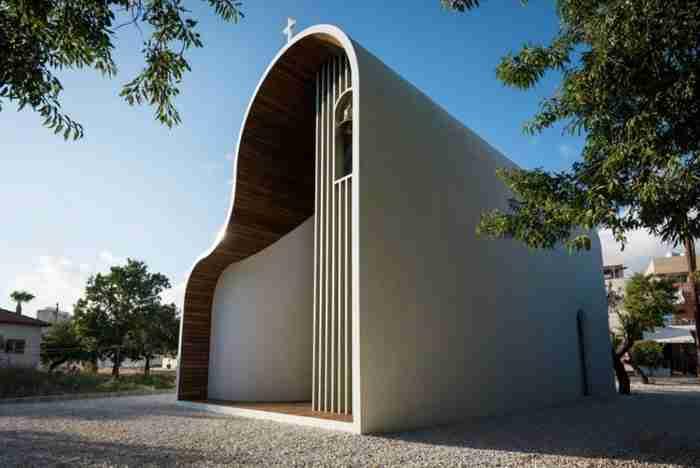 Το πιο φουτουριστικό εκκλησάκι στον κόσμο βρίσκεται στην Κύπρο!