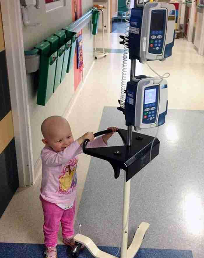 Η 4χρονη καρκινοπαθής που της έδιναν εβδομάδες ζωής και 8 μήνες μετά οι όγκοι της είχαν εξαφανιστεί! Εντελώς!