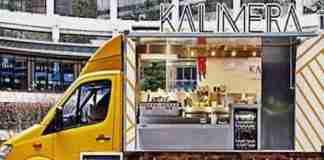 """Ο Έλληνας με την καντίνα """"Kalimera"""" που έχει ξετρελάνει τους Λονδρέζους"""