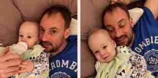 Μπαμπάς με λίγους μήνες ζωής φτιάχνει τις καλύτερες αναμνήσεις για τον γιο του. Η αγάπη νίκησε τον καρκίνο