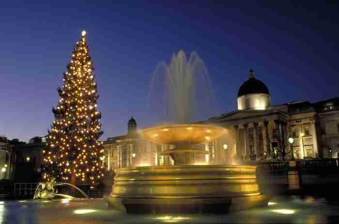 Στο Λονδίνο είναι ήδη.. Χριστούγεννα!