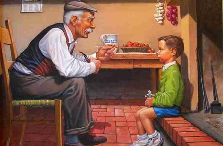 """Γράμμα του Ουμπέρτο Έκο στον εγγονό του: """"Καλλιέργησε τη μνήμη σου και θα ζήσεις χίλιες ζωές"""""""