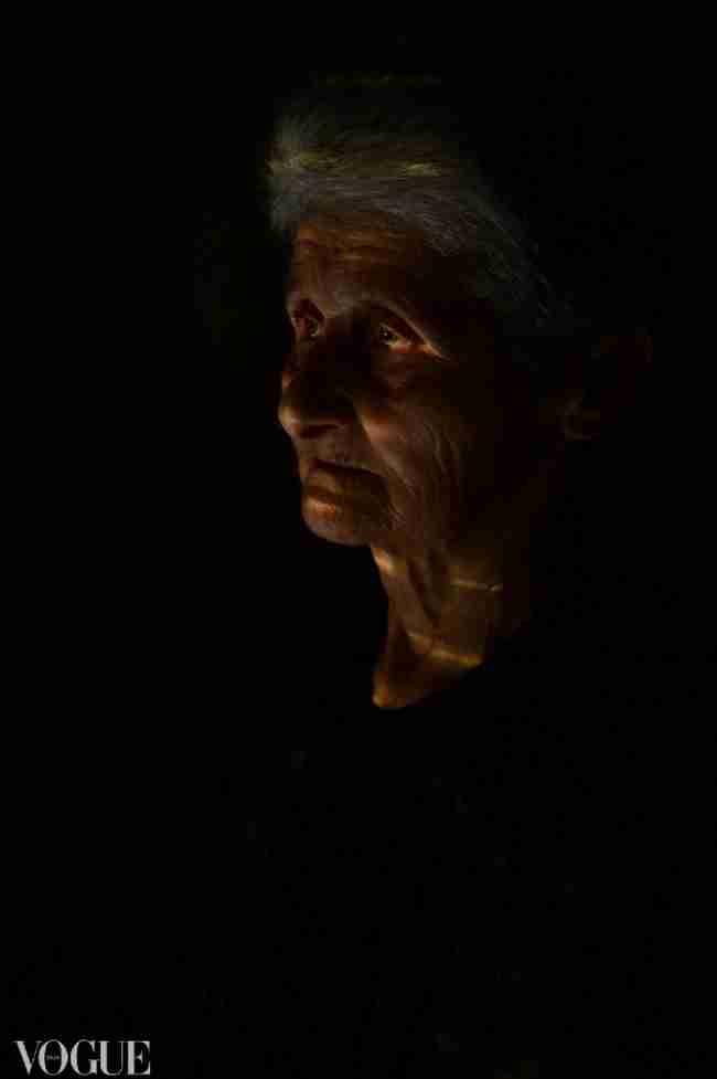 Η 74χρονη γιαγιά από την Πέλλα που πόζαρε για τη Vogue