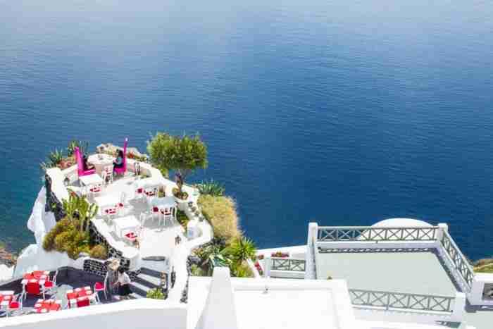 Σύμφωνα με το National Geographic το εστιατόριο με την πιο όμορφη θέα στον κόσμο βρίσκεται στην Ελλάδα!